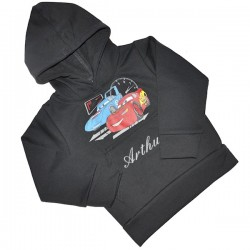 Sweat-Shirt Disney Cars Speed manches longues avec capuche