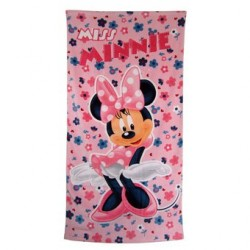 Drap de bain Miss Minnie Disney