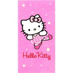 Draps de plage hello kitty danseuse